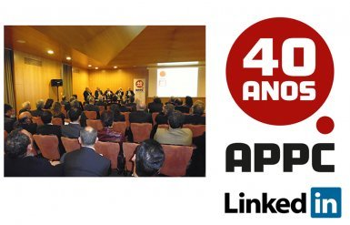 LinkedIn page and commemoration of APPC´s 40th anniversary